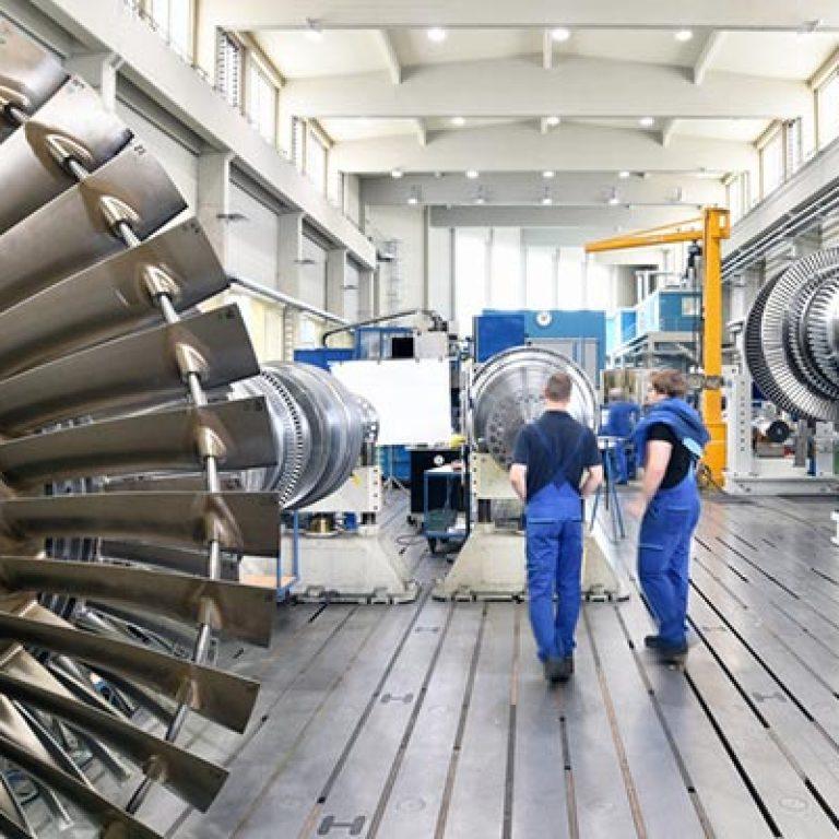 Werksverlagerung Industriemontage